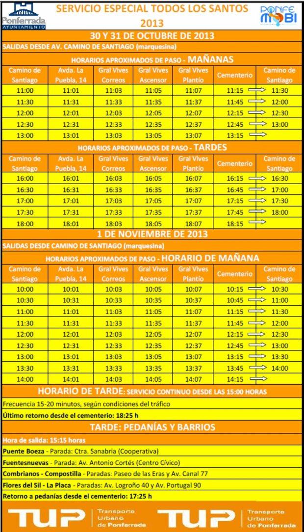 servicio especial bus todos santos 2013