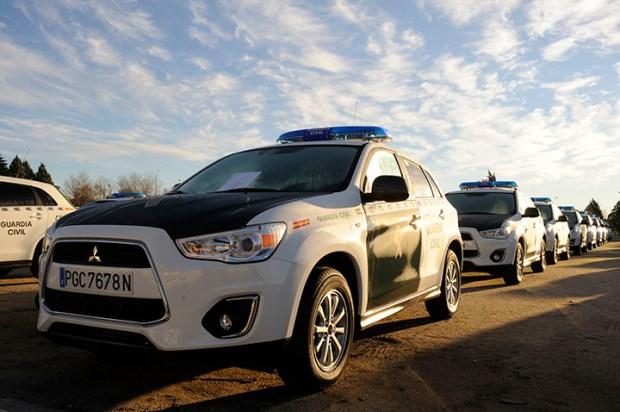 nuevos coches guardia civil