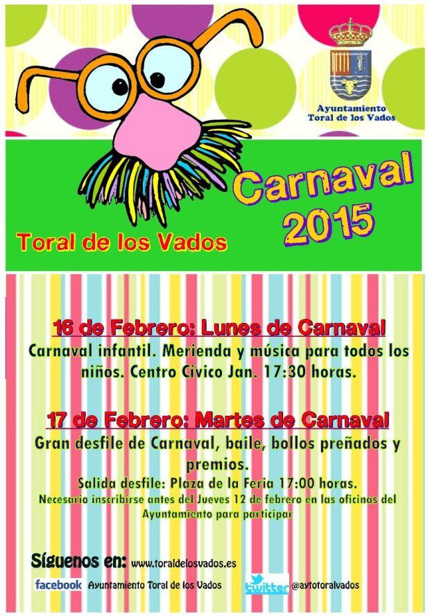 carnaval 2015 toral de los vados