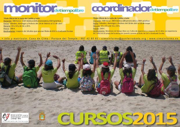 cartel Monitor y Coordinador 2015