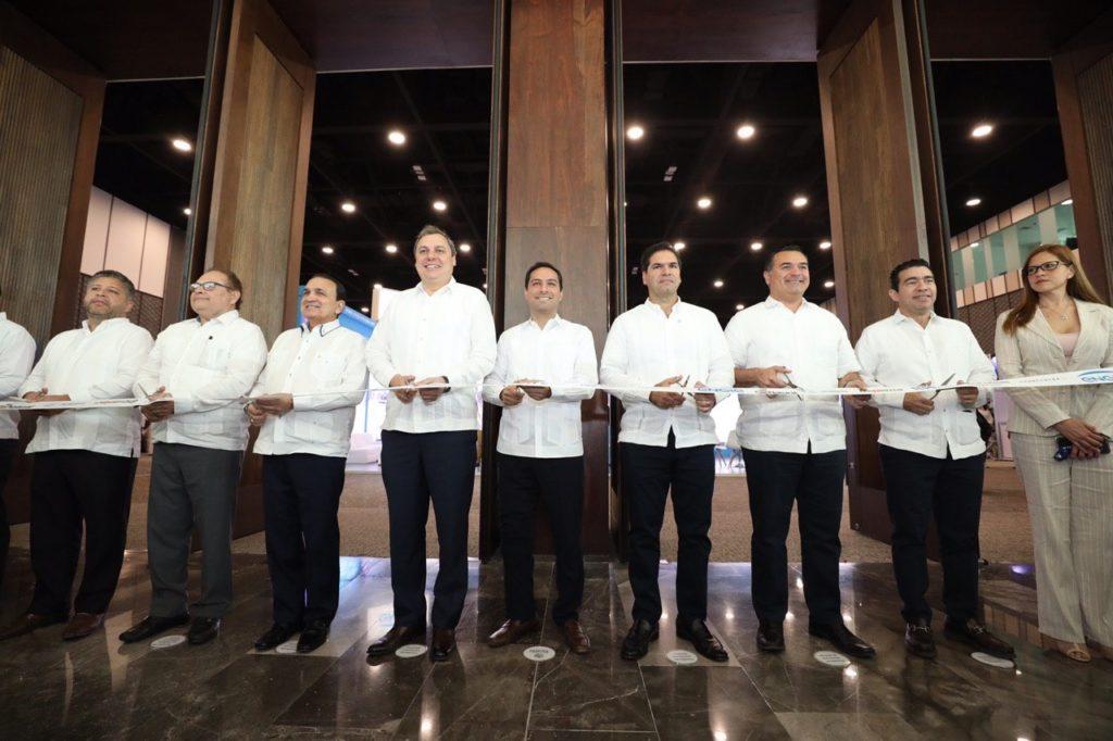 El Gobernador Mauricio Vila Dosal inaugura la Expo Foro de Energía Yucatán 2020
