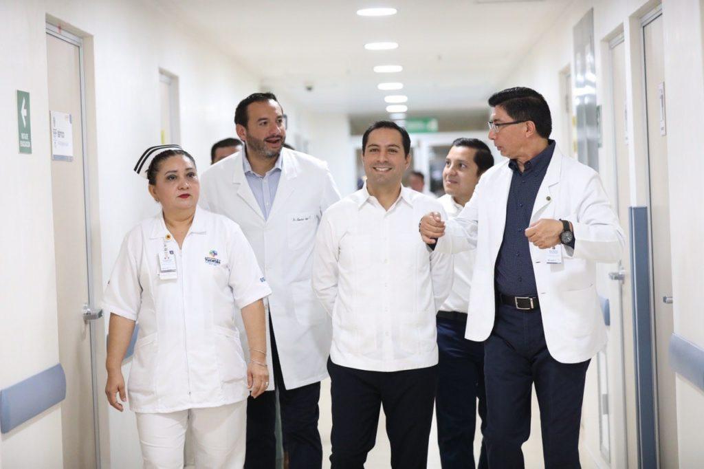 """Mejores servicios de salud para los yucatecos en el Hospital General """"Doctor Agustín O'Horán"""""""