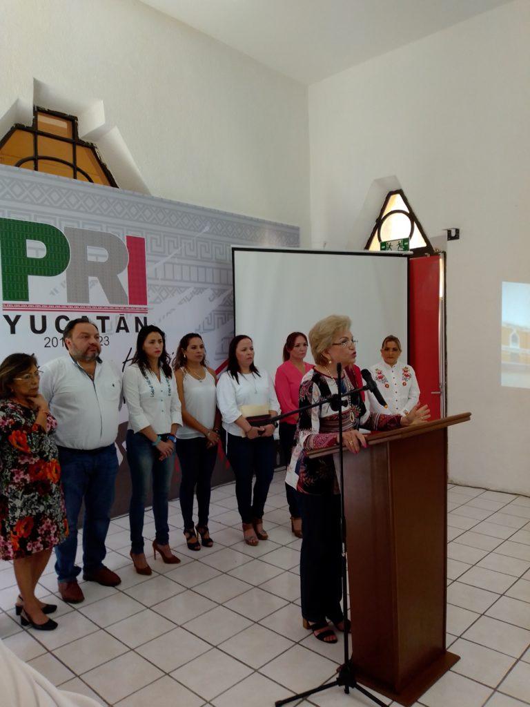 #UnDíaSinNosotras, no es concesión graciosa del patriarcado: PRI Yucatán