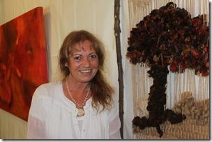 Importante artista expone sus trabajos en Casa Municipal de la Cultura de Pucón (1)