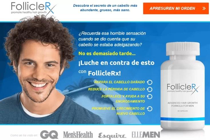 FollicleRX promueve el crecimiento saludable del cabello