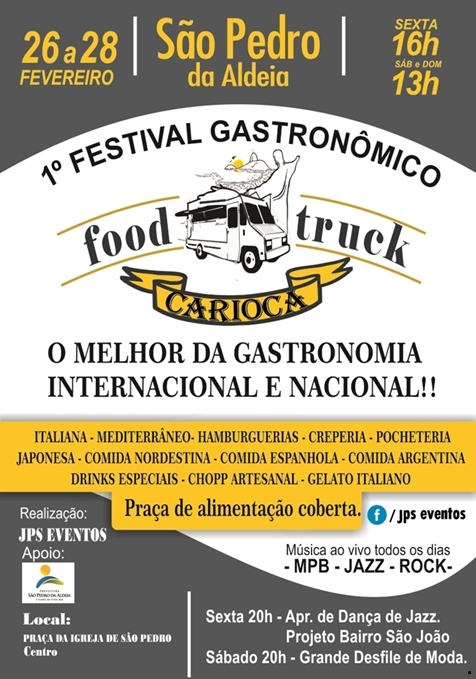 1° Festival Gastronômico de Food Truck 1