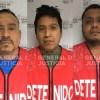 3 detenidos por el delito de homicidio en grado de tentativa.