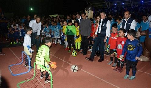 Inaugura Chucho Nader la Liga Municipal de Futbol Infantil y Juvenil de Tampico