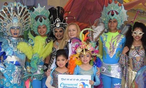 Anuncia Alma Laura Amparán el Carnaval Altamira 2019