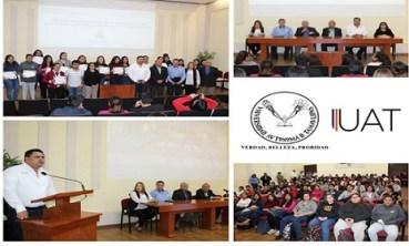 Participan alumnos de la UAT en conferencias sobre salud mental
