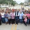 Entrega Chucho Nader Pavimentación de Más de Medio Kilómetro de Calle