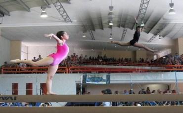 Atletas listos para estatal de Gimnasia Artística.