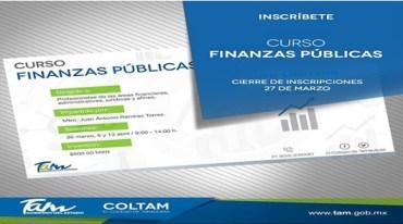 Participa en el curso Finanzas Públicas