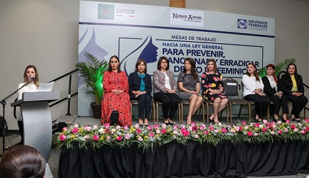 Realizan en Tampico Foro Contra el Feminicidio