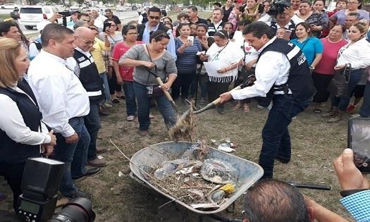 Supervisa Gobernador acciones de Unidos por Tamaulipas en Reynosa