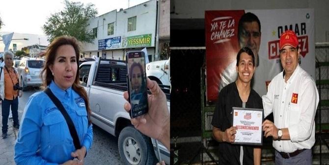"""AHORA… LA CONTIENDA ESTÁ ENTRE ROXANA GÓMEZ  Y """"YA CHAVEZ"""