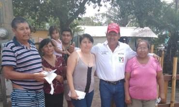 """""""Gestionaré recursos para el relleno sanitario  en el Ejido Medrano"""": El Chilero."""
