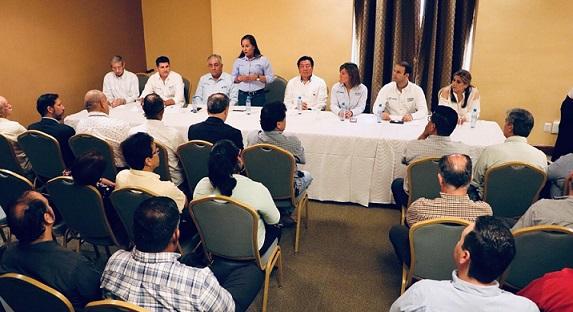 Propone Karla Mar alianza con los empresarios para impulsar el desarrollo de Tamaulipas