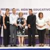 Entrega Chucho Nader la Medalla «Lauro Aguirre» al Mérito Educativo