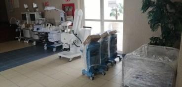 Entrega Gobierno de Tamaulipas equipo médico al hospital general de Mante.