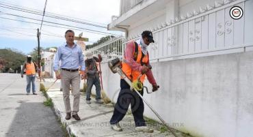 Intensifica Chucho Nader Acciones de Limpieza en Todos los Sectores de la Ciudad