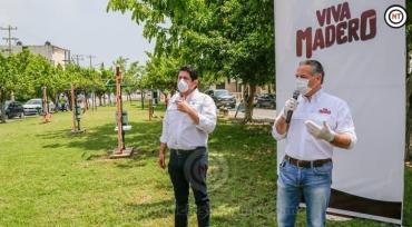 Rehabilitarán las más de 60 plazas en Madero