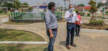Impulsa Adrián Oseguera el mejoramiento de áreas recreativas
