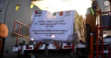 RECIBE EL ISSSTE 656 MIL INSUMOS Y EQUIPO DE PROTECCIÓN POR PARTE DE EMIRATOS ÁRABES UNIDOS