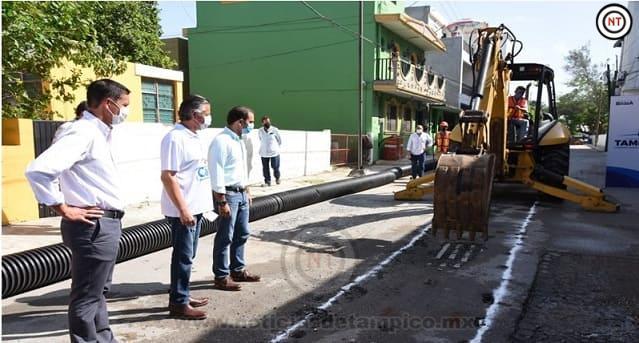 En Pavimentación Seguimos Cumpliendo Nuestro Compromiso con los Tampiqueños; Chucho Nader