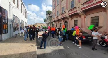 Abandera Peñaloza Petición de Comerciantes de Tampico; Buscan que AMLO Intervenga