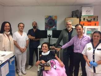 El SES instala una estación de Telemedicina en el Centro de Atención a Personas con Discapacidad Física de Alcuéscar