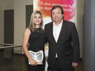 Guillermo Fernández Vara asiste a la entrega de los IV Premios Internacionales Patrocina un Deportista