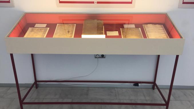 """La exposición """"Del arca de las tres llaves a la nube"""" reanuda su itinerancia en Alía"""