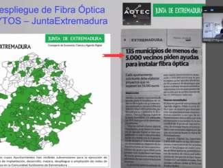 Despliegue Fibra Óptica Ayuntamientos