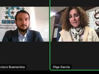 Olga García. consejera para la Transición Ecológica y Sostenibilidad,