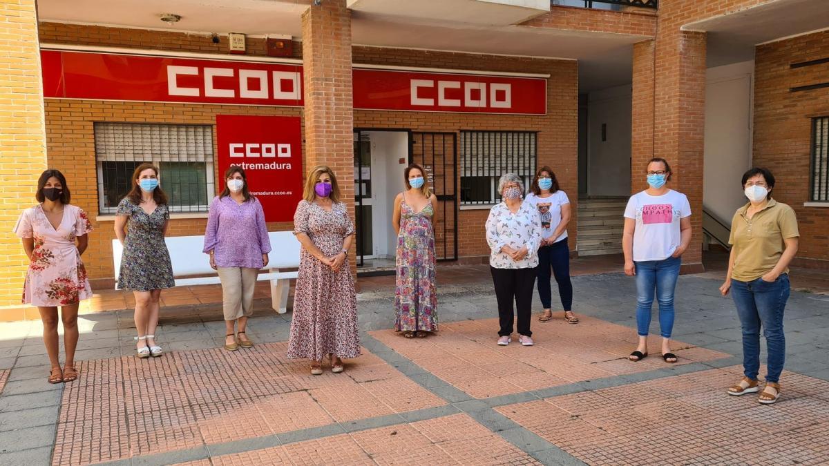 Plenario-de-las-secretarias-de-Igualdad-y-Mujeres-de-CCOO-de-Extremadura