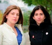 Ginger Gentile y Sandra Fernánez Ferreira