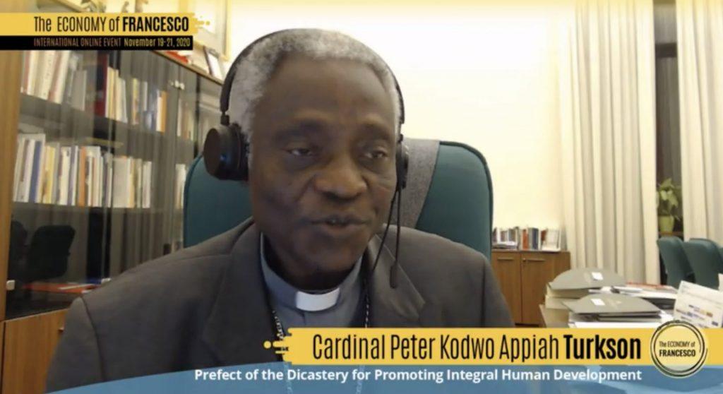El cardenal Turkson reclama una economía con «alma» que genere trabajo digno