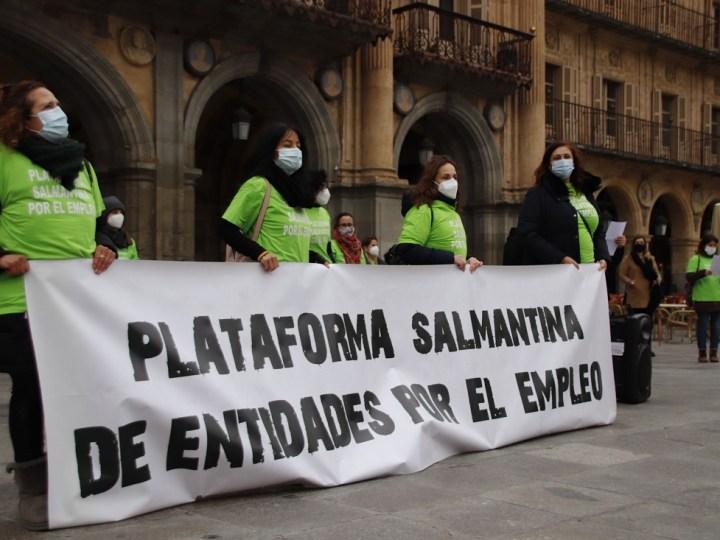 Entidades por el trabajo decente alertan del aumento de personas vulnerables en Salamanca