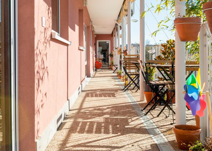 El primer edificio de vivienda colaborativa de Madrid ya está habitado