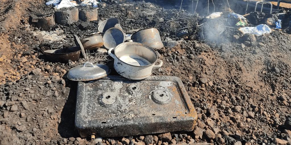 Mueren dos temporeros en el incendio de otro asentamiento de Huelva