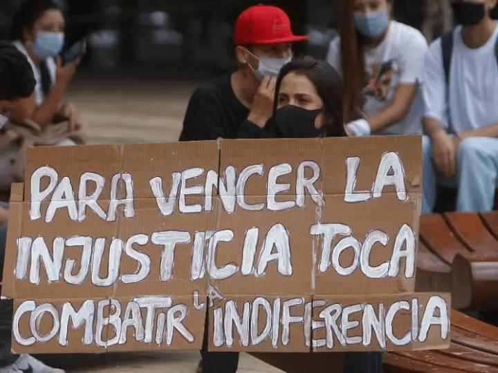 La situación sociopolítica en Colombia
