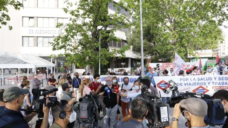 Piden justicia para los trabajadores de Metro de Madrid afectados por amianto