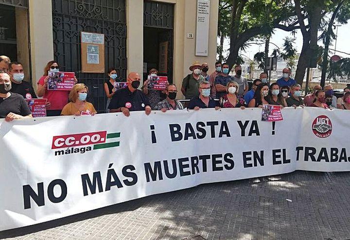 Sindicatos y trabajadores cristianos de Málaga lamentan otra muerte más en accidente de trabajo