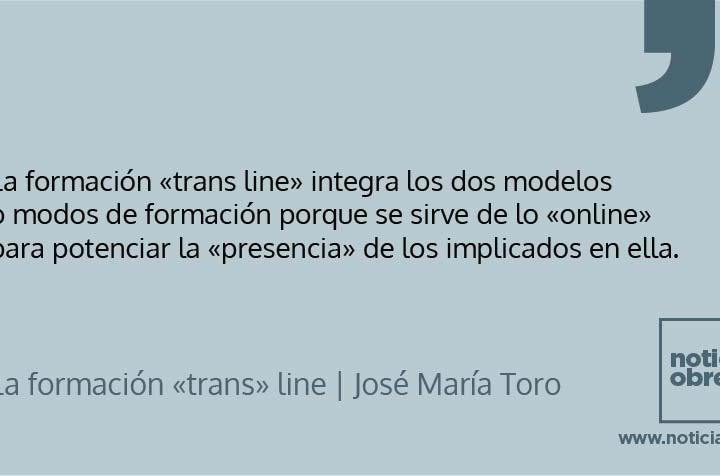 La formación «trans» line