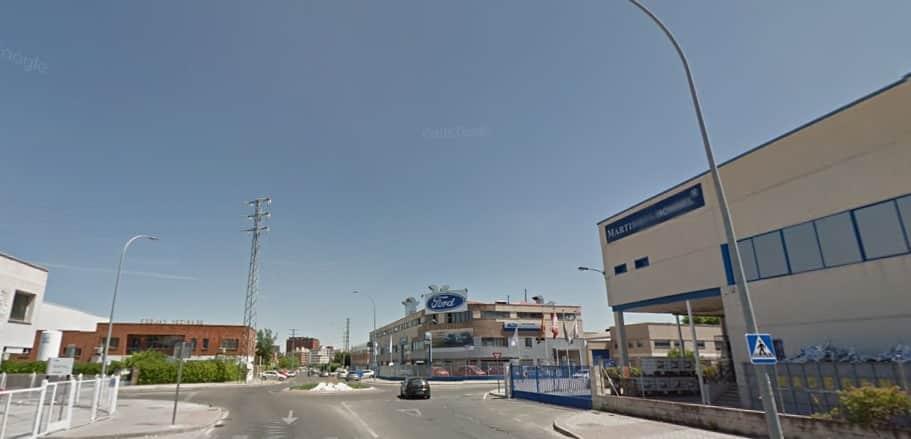 La calle F en el polígono industrial 1, que pasará a llamarse Yolanda González