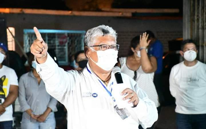 Denuncia Joaquín Guzmán Avilés que continúa hostigamiento contra candidatos de la oposición
