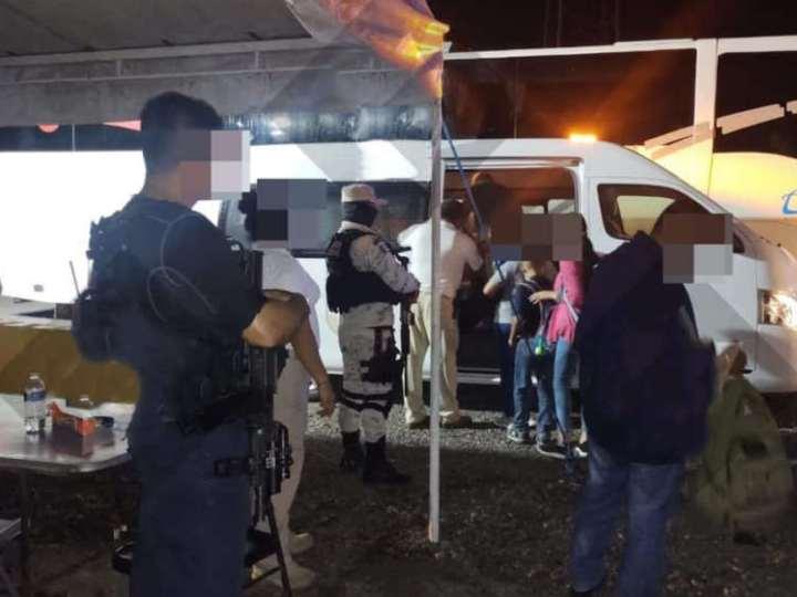 SSP resguarda a 34 migrantes en Minatitlán y Cosoleacaque