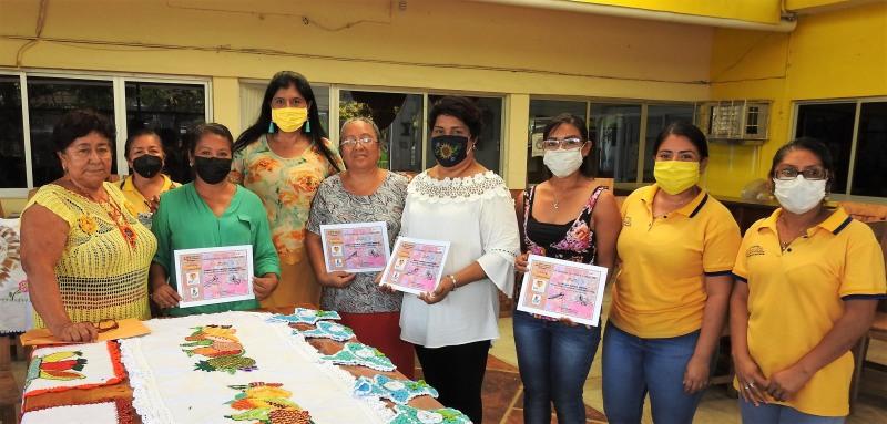 Creditan alumnas taller de bordado en el DIF Municipal de Cabada