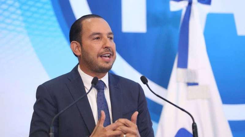 Sin importarle al gobierno la crisis sanitaria, se mal gastan 500 millones de pesos para una consulta inservible: Marko Cortés